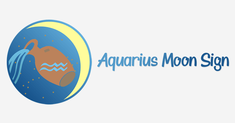 Aquarius Moon Sign – The Inner Self, Positive & Negative Traits