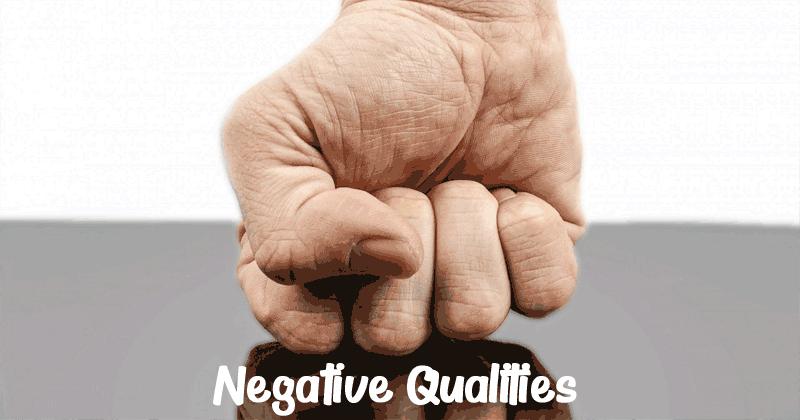 Negative Qualities - Aries