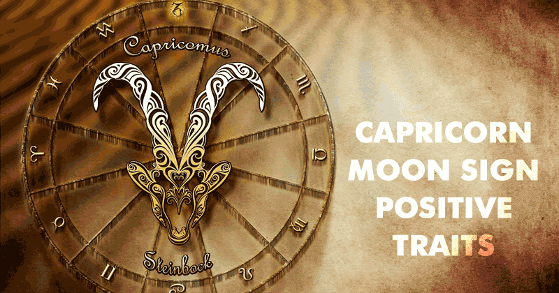 Moon in Capricorn - Positive Traits