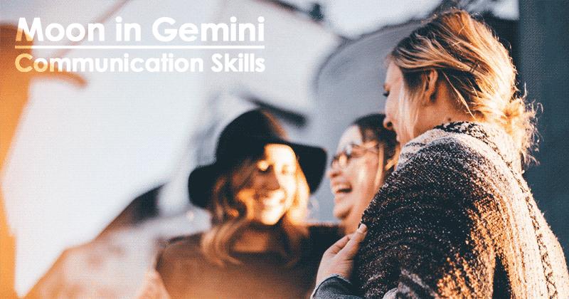 Moon in Gemini - Communication Skills
