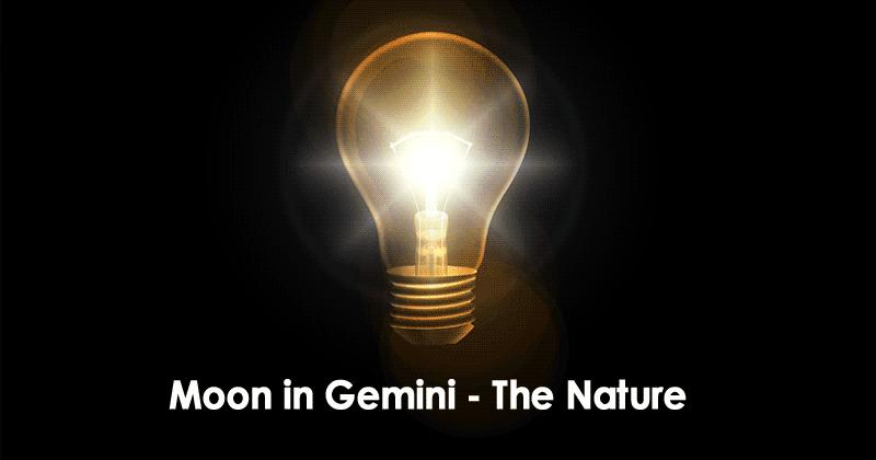 Moon in Gemini - The Nature
