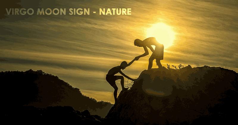 Virgo Moon Sign - Nature