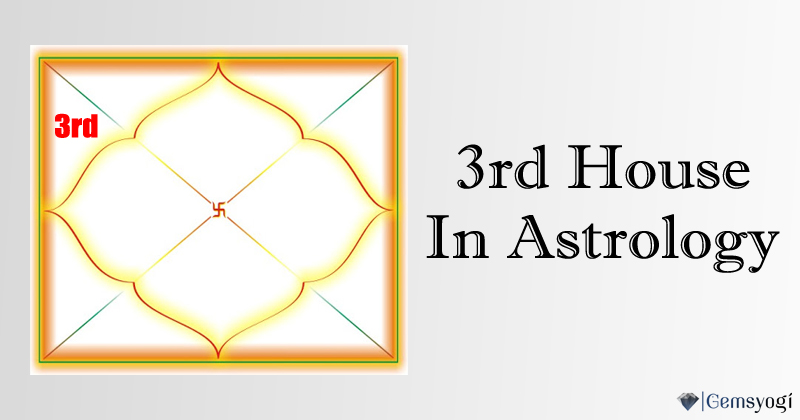 3rd House in Astrology
