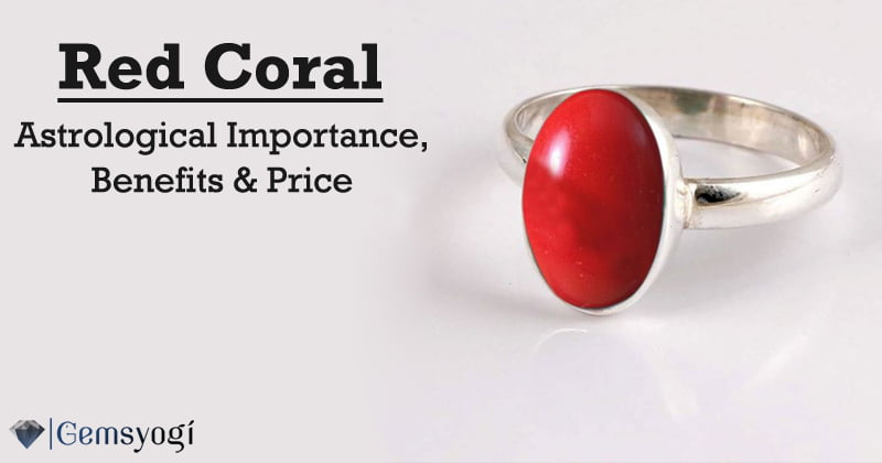 Red Coral Gemstone (Moonga) – Astrological Importance, Benefits & Price