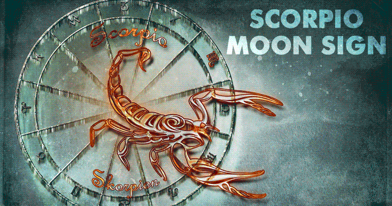 Scorpio Moon Sign – Nature, Strong Emotions & Qualities