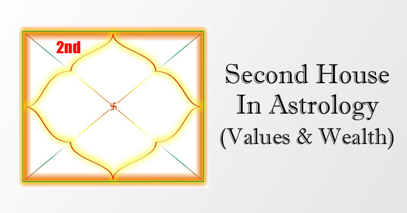 2nd House In Astrology