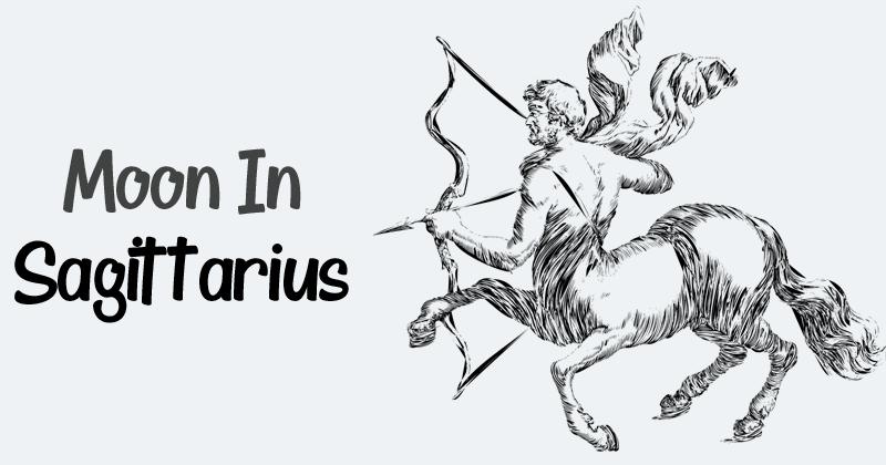 Sagittarius Moon Sign – Nature, Positive & Negative Traits