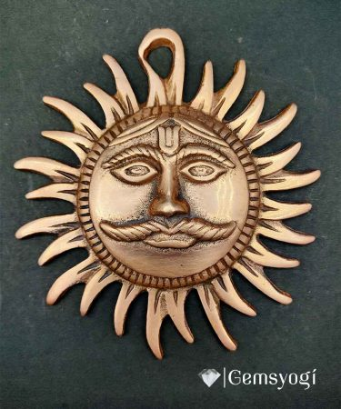 Copper_surya_devta_kawach_for main door_entrance_gemsyogi.com